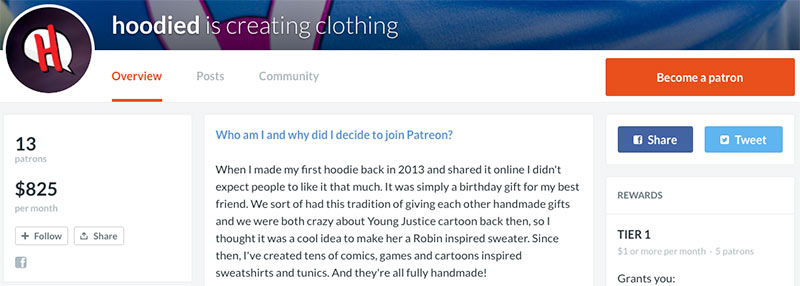 90 of the Biggest Earners on Patreon (And What They're