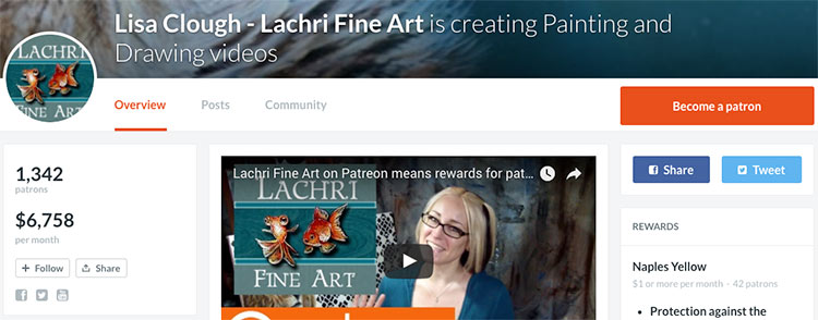 90 of the Biggest Earners on Patreon (And What They're Selling) - Gaps