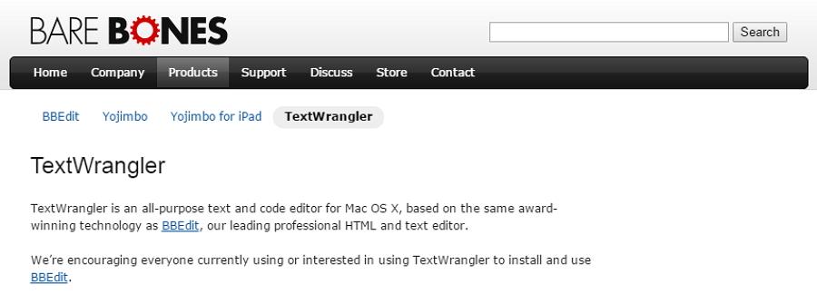textwrangler